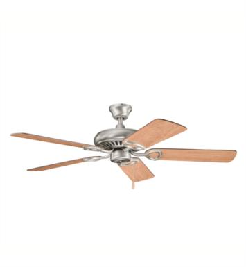 "Kichler 339011SNW Sutter Place 5 Blades 52"" Indoor Ceiling Fan With Finish: Satin Natural White"