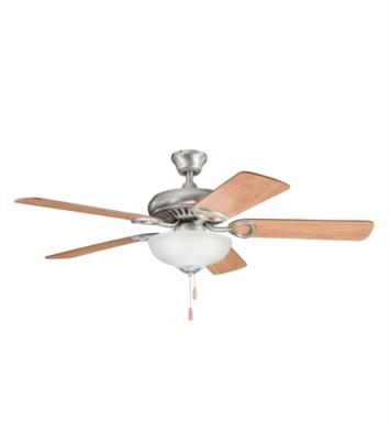 "Kichler 339211AP Sutter Place Select 5 Blades 52"" Indoor Ceiling Fan With Finish: Antique Pewter"