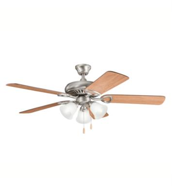 "Kichler 339400OZ Sutter Place Premier 5 Blades 52"" Indoor Ceiling Fan With Finish: Olde Bronze"