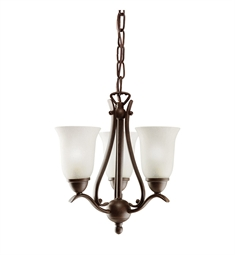 Kichler Dover Collection Pendalette 3 Light in Tannery Bronze