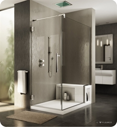 Fleurco Titan Cronos Cube Door with Return Panel