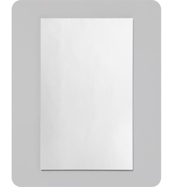 "Robern RC1626D4FP1 R3 Series 16"" x 26"" Plain Edge Medicine Cabinet with Wide Flat Door"