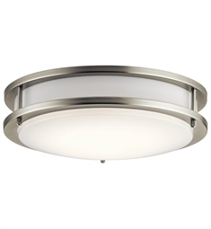 "Kichler 10784LED 1 Light 11 3/4"" Integrated LED Flush Mount Ceiling Light"