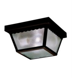 "Kichler 345 Outdoor Miscellaneous 2 Light 9 1/4"" Incandescent Outdoor Flush Mount Ceiling Light"