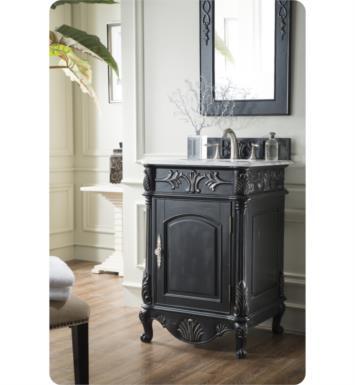 "24 Bathroom Vanity With Backsplash james martin 207-sj-v24 st. james 24"" single bathroom vanity with"