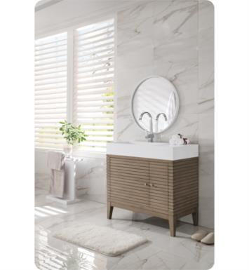 martin linear single bathroom vanity whitewashed walnut finish home improvement wilson stores near my location close to me