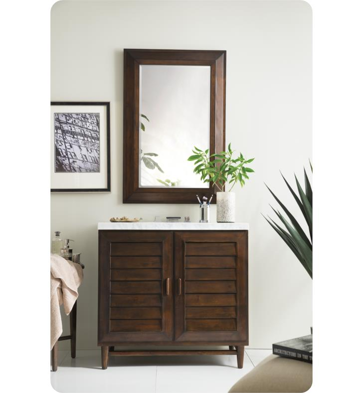James Martin 620 V36 Portland 36 Single Bathroom Vanity With Soft Close Hinges