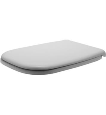 "Duravit 0067390000 D-Code 16 7/8"" Plastic Toilet Seat and Cover in White With Toilet Seat and Cover : With Soft Closure"