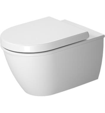 duravit darling new dual flush onepiece wall mounted washdown rimless elongated toilet in white