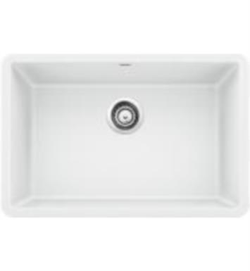 "Blanco 522429 Precis 26 7/8"" Single Bowl Undermount Silgranit Kitchen Sink in White"