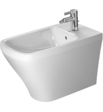 Duravit 2283100000 DuraStyle Single Hole Floor Standing Bidet in White Finish With WonderGliss Surface Finish: Without WonderGliss