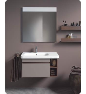 Duravit 2325800030 Durastyle 31 1 2 Drop In Vanity Bathroom Sink On Left Side With Overflow