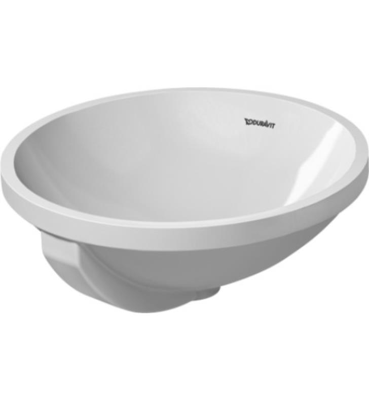Duravit 0468400000 architec 17 undermount vanity bathroom for Duravit architec sink