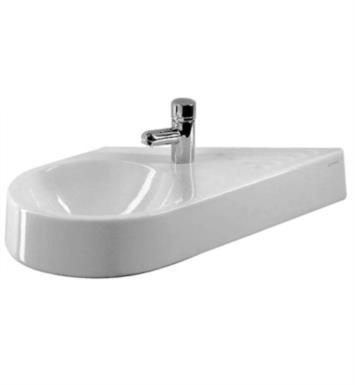 Duravit 0764650000 architec 25 3 8 wall mount bathroom for Duravit architec sink