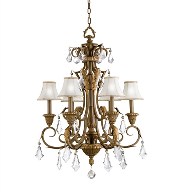 Kichler 2130RVN Ravenna Collection Chandelier 6 Light in Ravenna