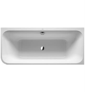 "Duravit 700317000000090 Happy D.2 70 7/8"" Corner Right Acrylic Soaking Bathtub with Two Backrest Slopes"