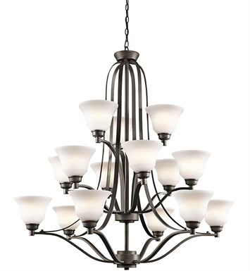 Kichler 1789OZ Chandelier 3 Tier in Olde Bronze