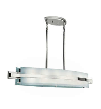 Kichler Freeport Collection Island 1 Light Fluorescent in Polished Nickel