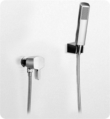 TOTO TS960F1#CP Soirée® Hand Shower Set with Lever Handle With Finish: Polished Chrome