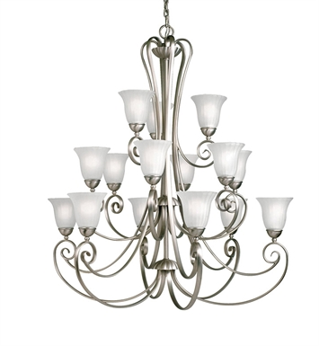 Kichler 1829 Willowmore Collection Chandelier 15 Light