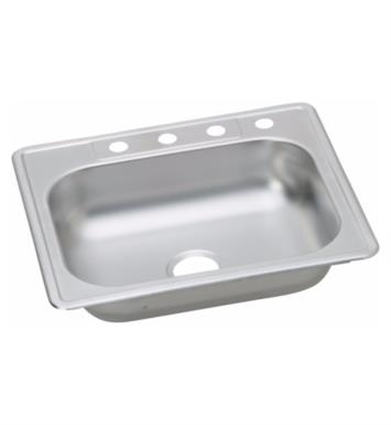 elkay kw5012522 kingsford 22 single bowl drop in kitchen sink with ada compliant - Ada Kitchen Sink
