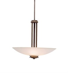 Kichler Hendrik Collection Inverted Pendant 3 Light in Olde Bronze