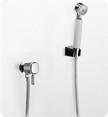 TOTO TS970F1L#CP Guinevere® High-Efficiency Handshower Set ?with Lever Handle, 1.75 gpm With Finish: Polished Chrome