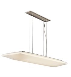 Kichler Ara Collection Pendant 4 Light Fluorescent in Brushed Nickel