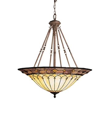 Kichler 65188 Dunsmuir Collection Inverted Pendant 6 Light