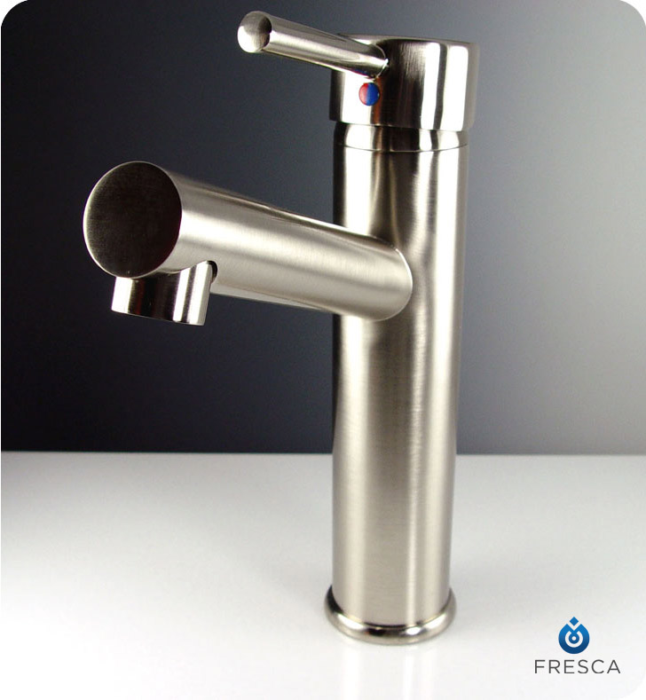 Fresca Fft1046bn Savio Single Hole Bathroom Faucet In Brushed Nickel