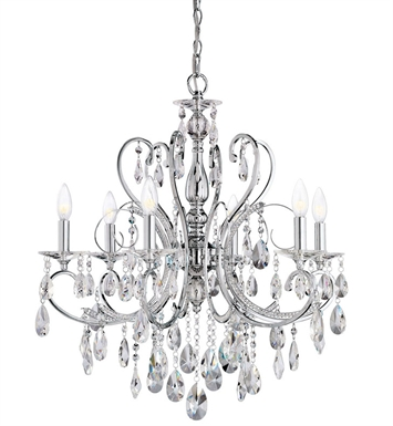 Kichler 1012CH Chandelier 6 Light in Chrome