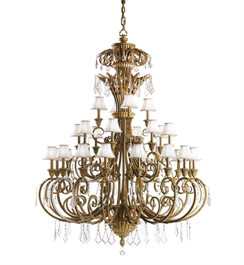 Kichler 2134RVN Ravenna Collection Chandelier 28 Light in Ravenna