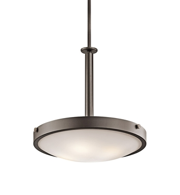 Kichler 42244OZ Inverted Pendant 4 Light in Olde Bronze