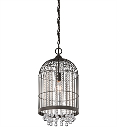 Kichler Foyer Pendant/Cage 1 Light in Olde Bronze