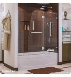 "DreamLine SHDR-3348588-EX Aqua Lux W 56"" to 60"" x H 58"" Hinged Tub Door"