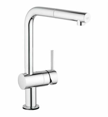 "Grohe 30218000 Minta Touch 13 1/8"" One Handle Deck Mounted Kitchen Faucet with Touch Technology With Finish: StarLight Chrome"