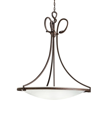 Kichler Pendant 1 Light Fluorescent in Tannery Bronze