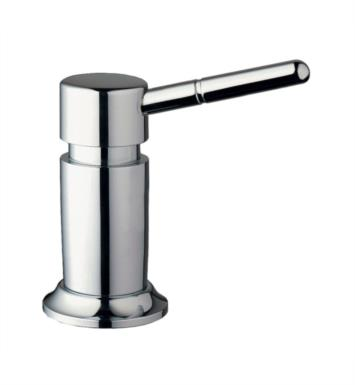 "Grohe 28751SD1 Deluxe XL 4 1/4"" Deck Mounted Soap/Lotion Dispenser With Finish: Stainless Steel, Brushed"