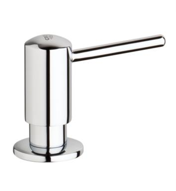 "Grohe 40536000 3"" Timeless Deck Mounted Contemporary Soap Dispenser With Finish: StarLight Chrome"