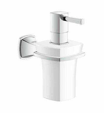 "Grohe 40627EN0 Grandera 3 1/8"" Wall Mount Soap Dispenser with Holder With Finish: Brushed Nickel"