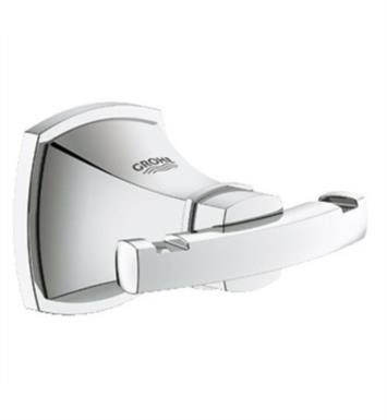 Grohe 40631000 Grandera Wall Mount Double Robe Hook With Finish: StarLight Chrome