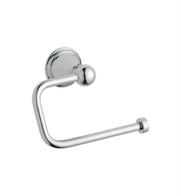 "Grohe 40156EN0 Geneva 5 5/8"" Wall Mount Toilet Paper Holder With Finish: Brushed Nickel"