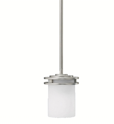 Kichler Hendrik Collection Mini Pendant 1 Light in Brushed Nickel