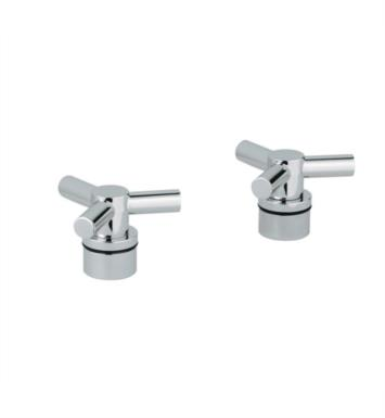 "Grohe 18033000 Atrio 4 1/2"" Ypsilon Spoke Handles for Roman Tub Filler With Finish: StarLight Chrome"
