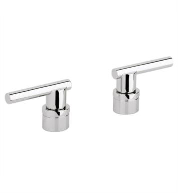 "Grohe 18034EN0 Atrio 3 1/8"" Jota Lever Handles for Roman Tub Filler With Finish: Brushed Nickel"