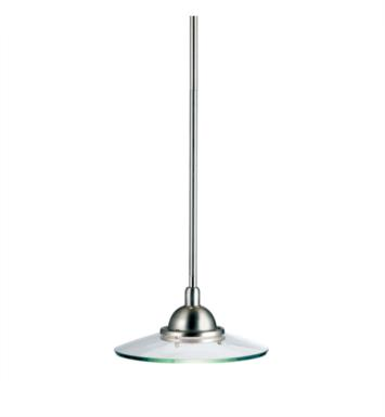 Kichler 2641NI Galaxie 1 Light Halogen Mini Pendant in Brushed Nickel