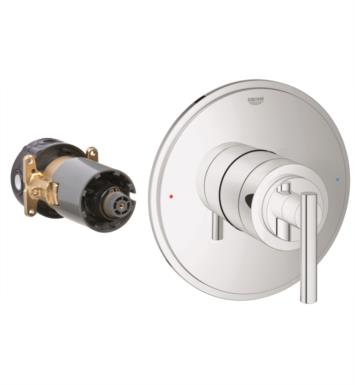 "Grohe 19866000 Atrio 6 3/4"" Single Function Pressure Balance Trim with Control Module With Finish: StarLight Chrome"