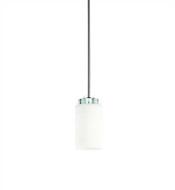 Kichler 42123CH Reynes Collection Mini Pendant 1 Light in Chrome