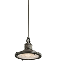 Kichler Sayre Collection Mini Pendant 1 Light in Olde Bronze