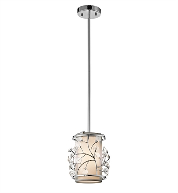 Kichler 42390CH Mini Pendant 1 Light in Chrome